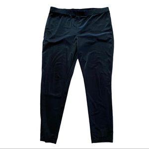 IMNYC Black Velour Leggings Size XL